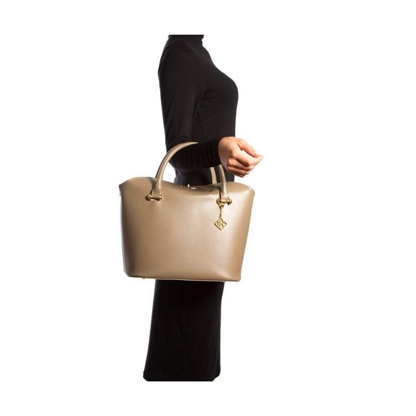 Kožená kabelka Isabella Rhea 396 Fango