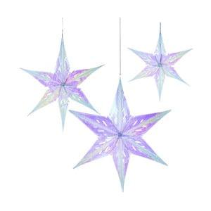 Dekoratívna reťaz  s 3 hviezdami Talking Tables