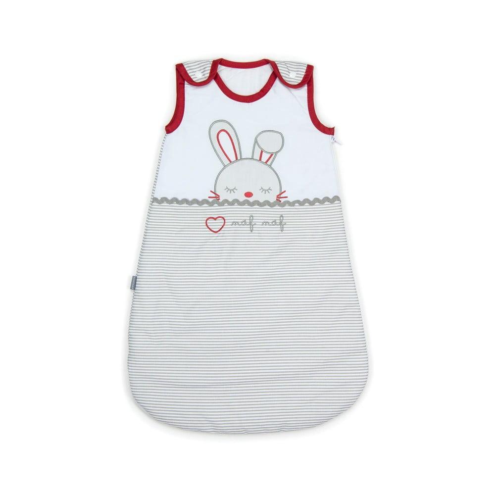 Detské spiace vrece zo 100% bavlny Naf Naf Rabbit, dĺžka 70 cm