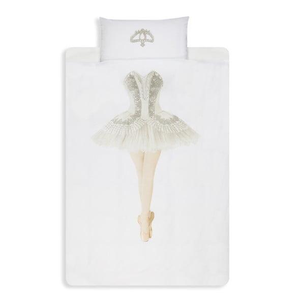 Bavlnené obliečky na jednolôžko Snurk Ballerina, 140×200 cm