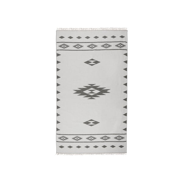 Obojstranná hammam osuška Alpha, sivá