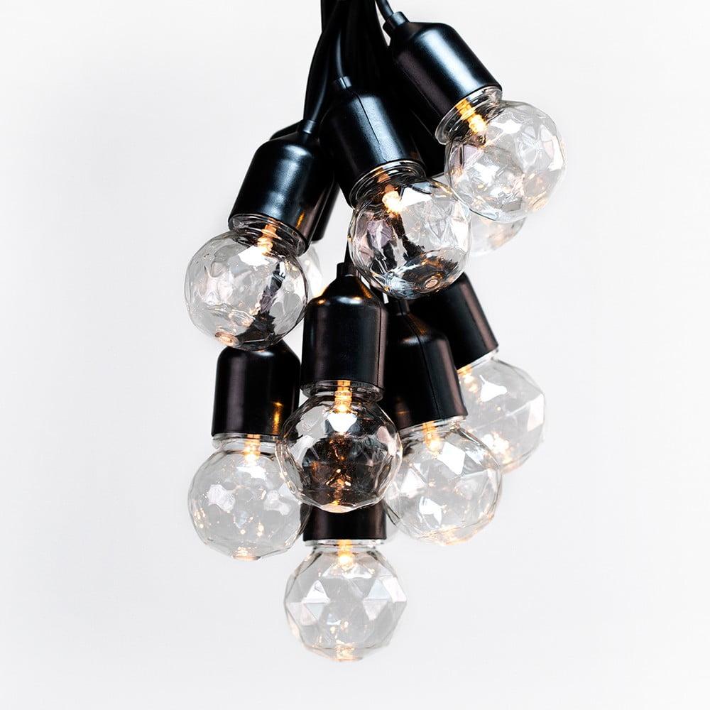 LED svetelná reťaz DecoKing Indrustrial Bulb, 10 svetielok, dĺžka 8 m
