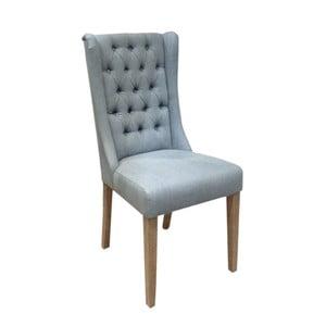 Svetlomodrá stolička s bavlneným poťahom Miloo Home Andover