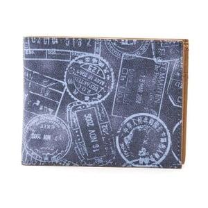Modrá dámska kožená peňaženka Alviero Martini Denim Duro