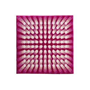 Kúpeľňová predložka Kolor My World VII 90x90 cm, ružová