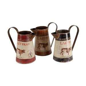 Sada 3 džbánov na mlieko Antic Line Lait Frais