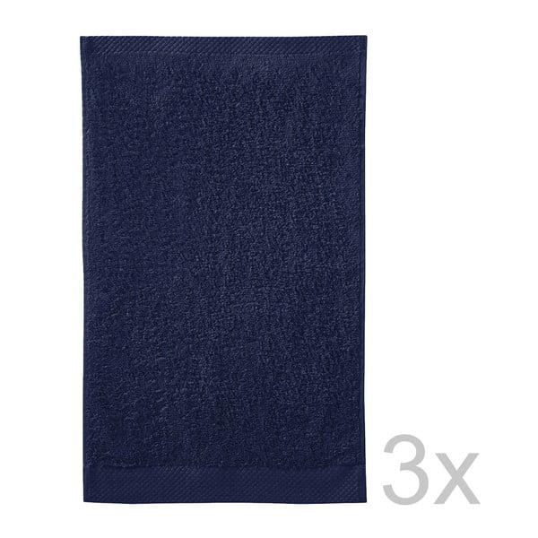 Set 3 uterákov Pure Indigo, 30x50cm