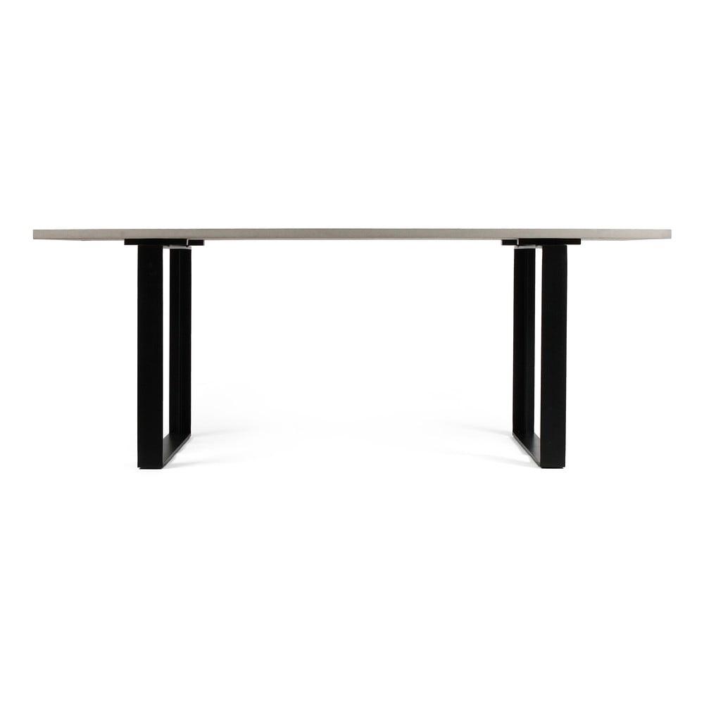 Betónový jedálenský stôl Lyon Béton Alps, 200 x 90 cm