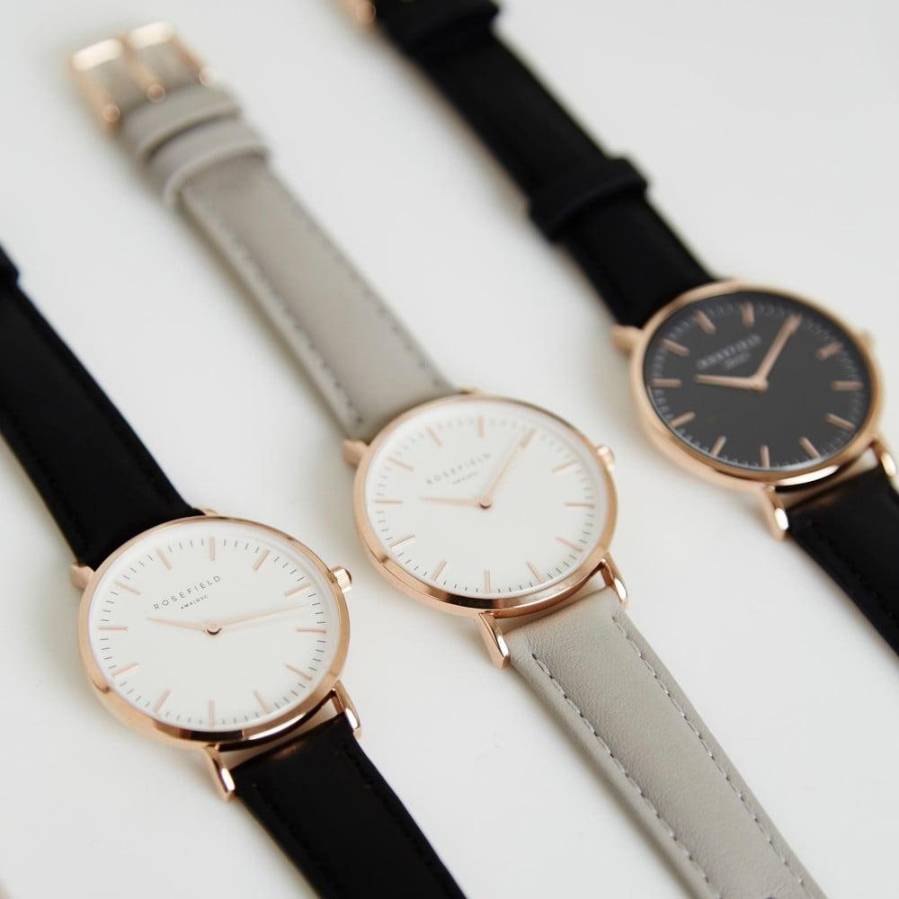... Bielo-modré dámske hodinky Rosefield The Bowery ... 8adf8210e2c