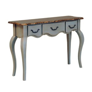 Konzolový stolík s 3 zásuvkami Transilvania