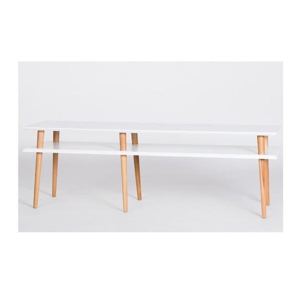 Konferenčný stolík Mugo White, 159 cm