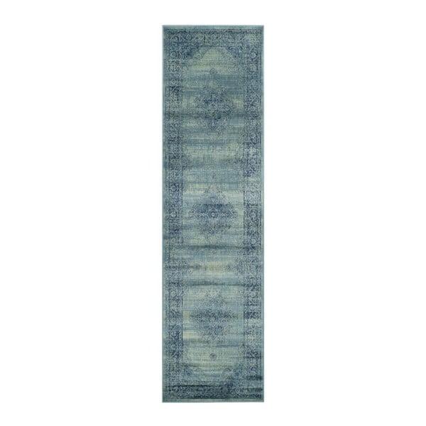 Koberec Olivia Blue, 66 x 243 cm
