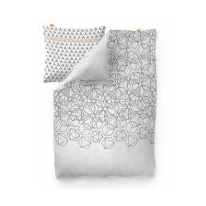 Bavlnená obliečka na perinu Blanc Silex, 200×200 cm
