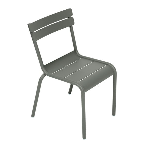 Sivá detská stolička Fermob Luxembourg