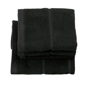 Čierny uterák Aquanova Adagio, 55 x 100 cm