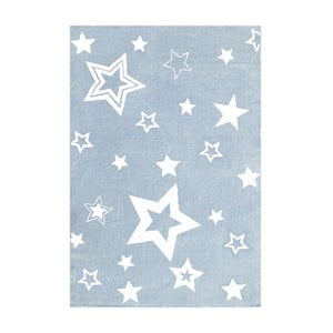 Modrý detský koberec Happy Rugs Satrlight, 100x160cm