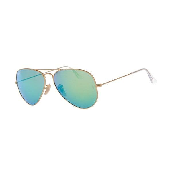 Slnečné okuliare Ray-Ban Aviator Flash Gold Aqua