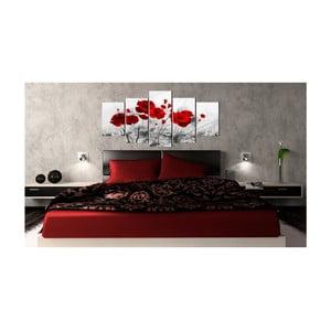 Obraz na plátne Bimago Red Miracle 100 x 50 cm