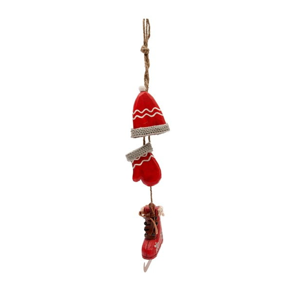 Závesná dekorácia Bunch Glove Red
