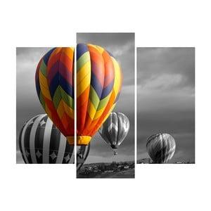 3-dielny obraz Balloon