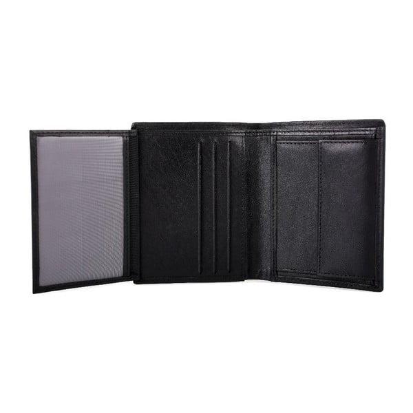 Kožená peňaženka Lois Black, 8,5x10,5 cm