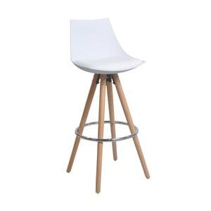 Biela barová stolička 13Casa Blaine