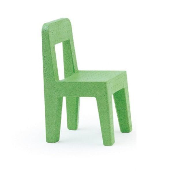 Detská zelená stolička Magis Seggiolina Pop