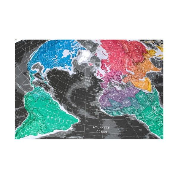 Širokouhlá mapa The Future Mapping Company Future Map, 101×58cm