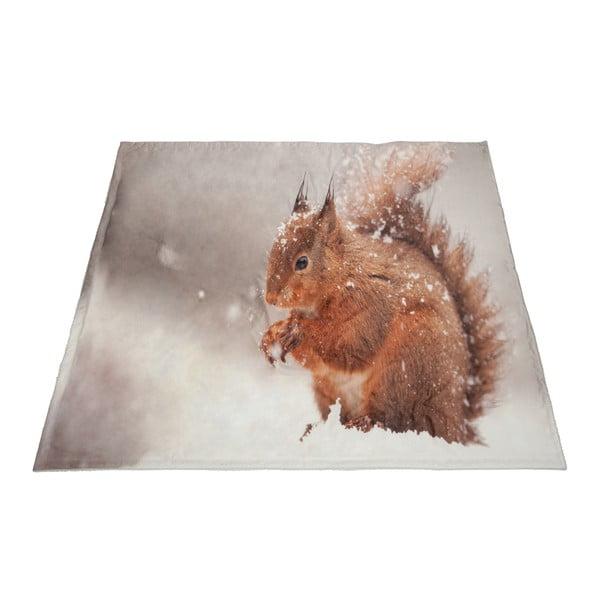 Prikrývka Squirrel Velvet, 140x160 cm