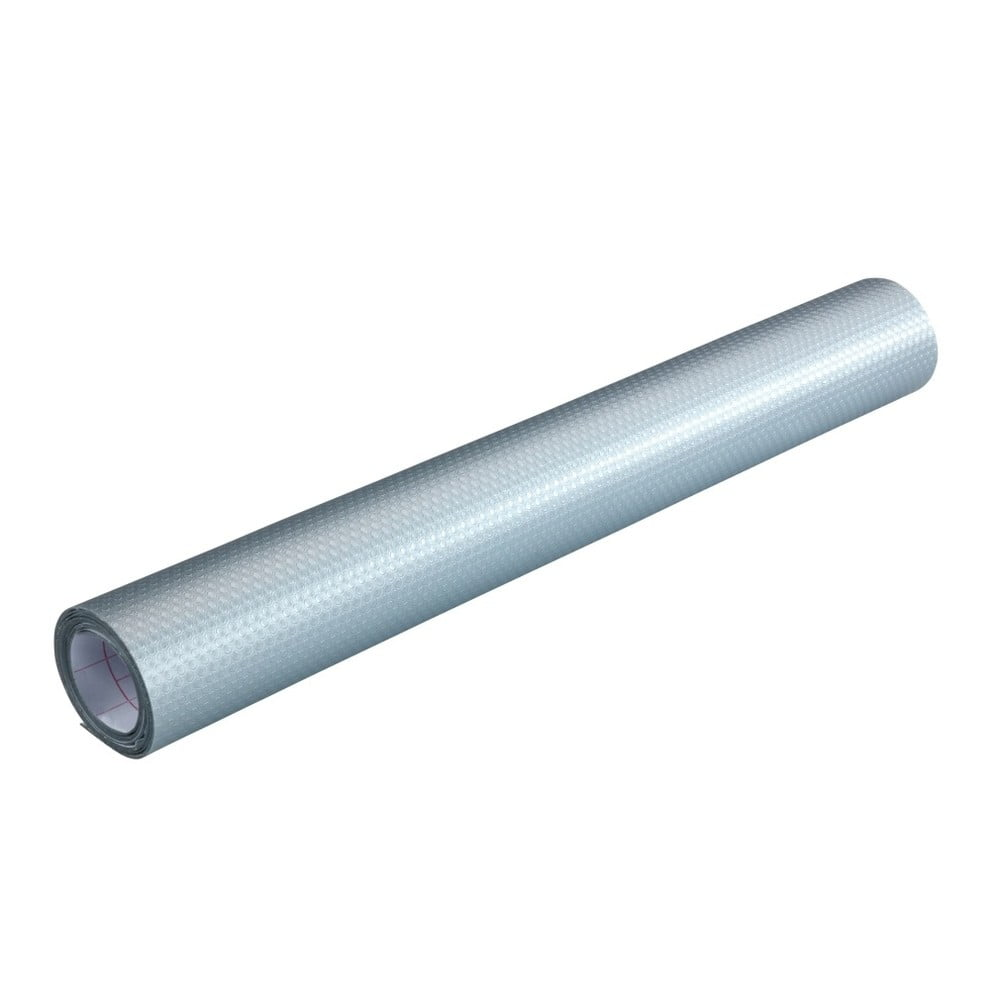 Sivá samolepiaca protišmyková podložka do zásuvky Wenko Anti Slip Mat, 150 × 50 cm
