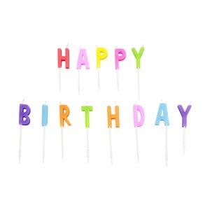 Sada tortových sviečok Le Studio Happy Birthday