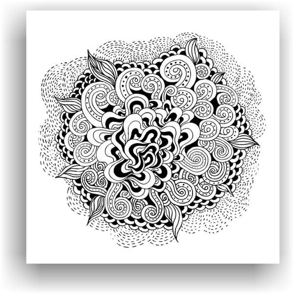 Obraz na vymaľovanie  Color It no. 2, 50x50 cm