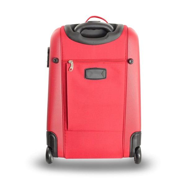 Sada 2 cestovných tašiek na kolieskoch Roulettes Red