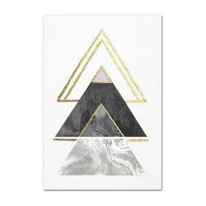 Nástenný ručne maľovaný obraz JohnsonStyle The Arrow Point, 60 x 90 cm