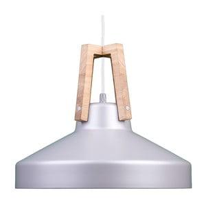 Strieborné stropné svetlo Loft You Work, 44 cm