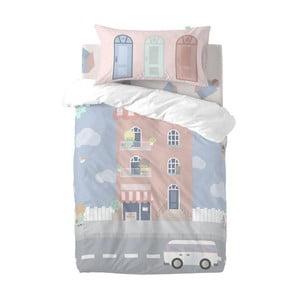 Detské obliečky z čistej bavlny Happynois Neighbor, 115×145 cm