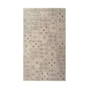 Béžový koberec Floorist Mosaic Beige, 140 x 200 cm
