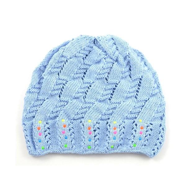 Dievčenská čapica Cuki, modrá