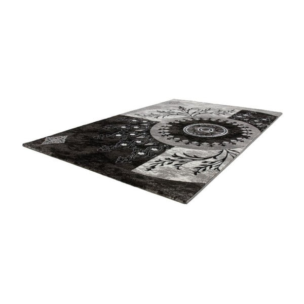Koberec Instinct 757 Black, 80x150 cm