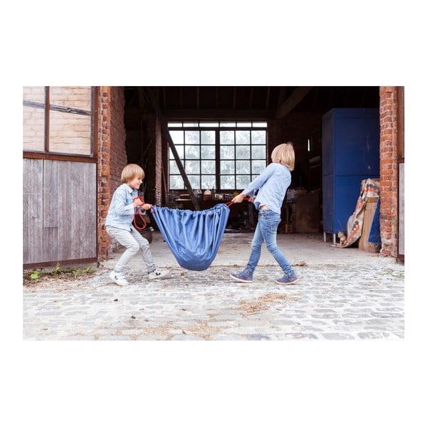 Podložka na hranie a vrece na hračky v jednom Play & Go Clasic Jeans