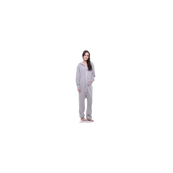 Unisex domáci overal Streetfly Thin Light Grey, veľ. S