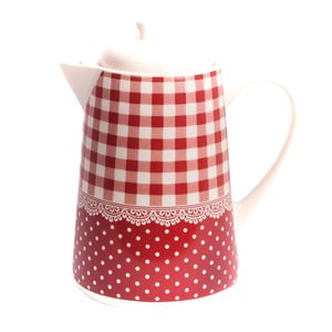 Kávová kanvica Red Dots&Checks