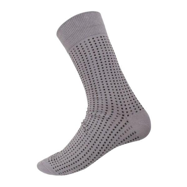Ponožky Mini Dots Grey, veľkosť 40-44