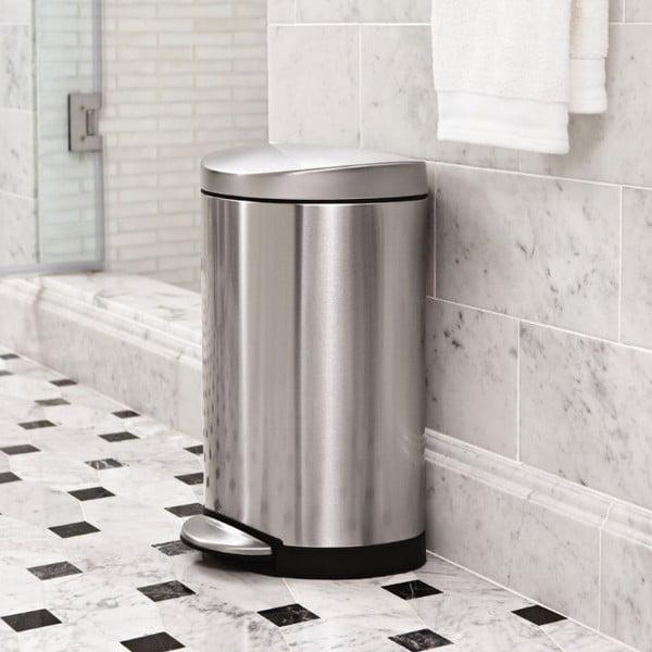 Kôš do kúpeľne simplehuman  10 l, matná oceľ