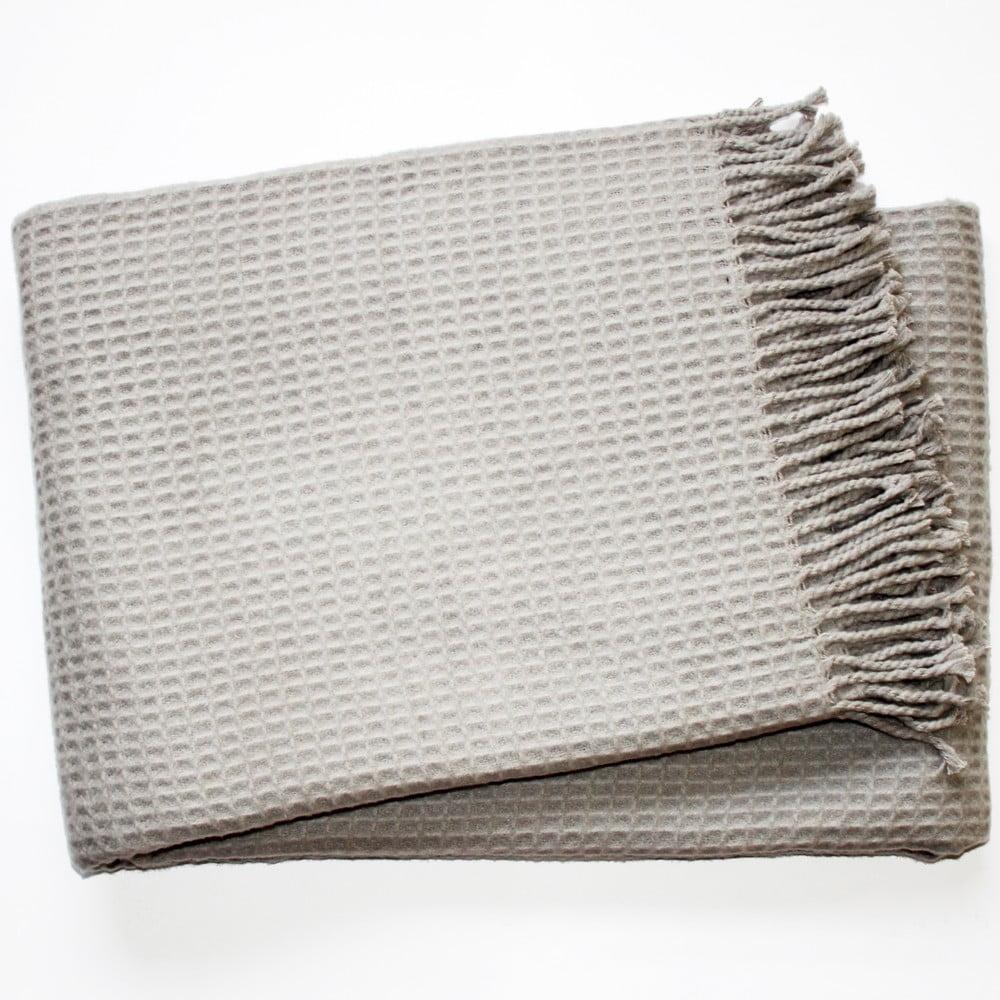 Deka Waffel Light Grey, 140 x 180 cm
