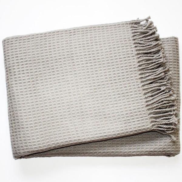 Deka Waffel Light Grey, 140x180cm