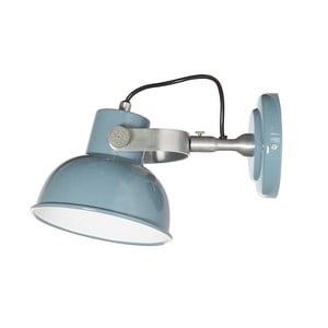 Modré nástenné svietidlo Look4Lamps Office