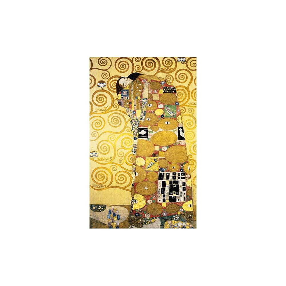Reprodukcia obrazu Gustav Klimt Fulfillment, 50 × 30 cm