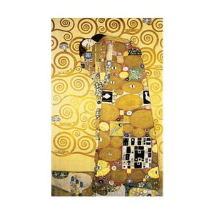Reprodukcia obrazu Gustav Klimt Fulfillment, 50×30cm