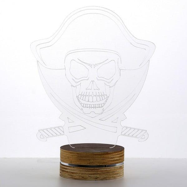 3D stolová lampa Pirate